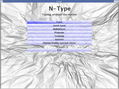 A screenshot of N-Type